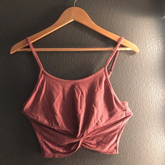 Tops - Cropped Pink Top